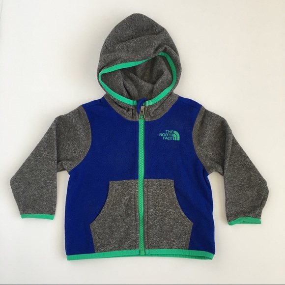3689ddba4 Baby Boys The North Face Glacier Full Zip Hoodie. M_5b3bf238aa57196625260def